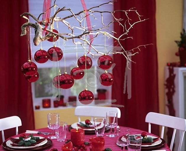 Новогоднее украшение комнаты своими руками фото