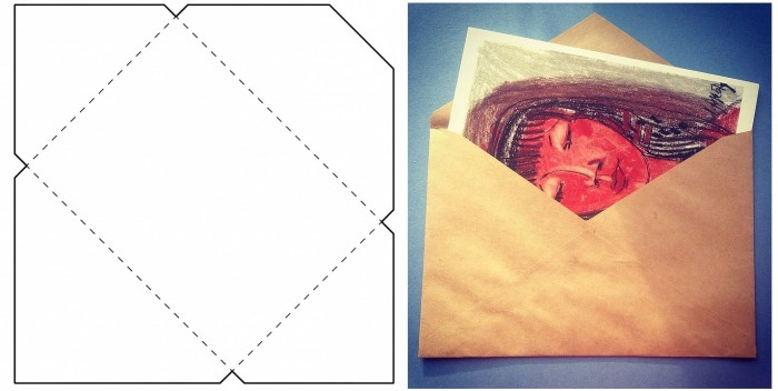 Изготовление конвертов своими руками из 456