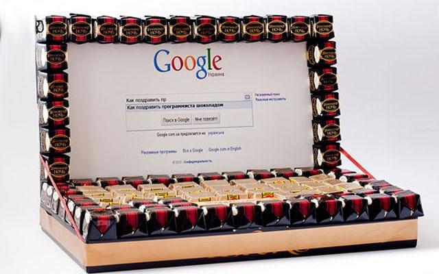 Подарок из конфет своими руками на день рождения фото