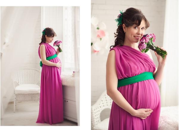 Платье для фотосессии беременных своими руками