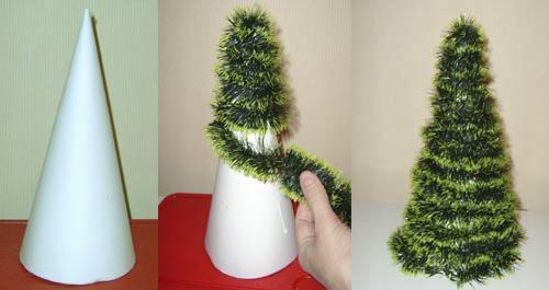 Как сделать своими руками игрушку на елку маленькую
