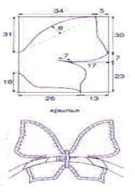 Как сделать своими руками бабочку для костюма