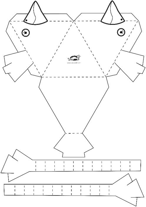 Детские поделки схемы