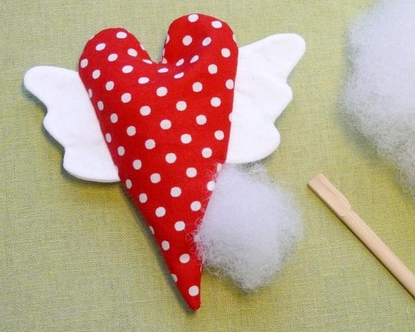 Сердце игрушка своими руками