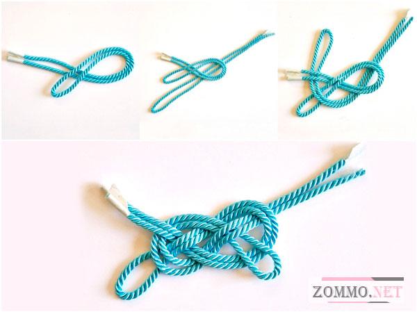 Браслет из верёвки своими руками